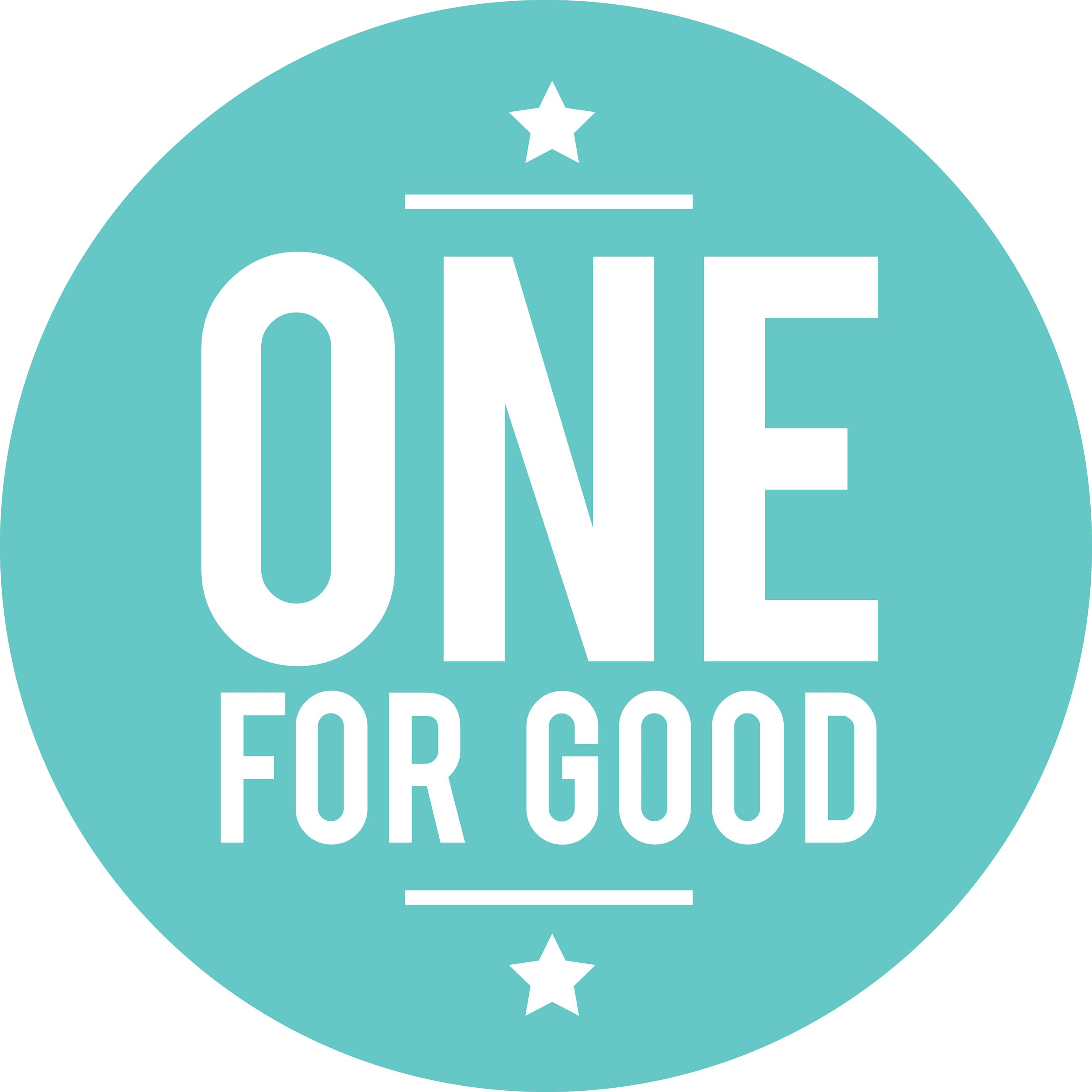 The Consumer Goods Forum: One For Good Logo