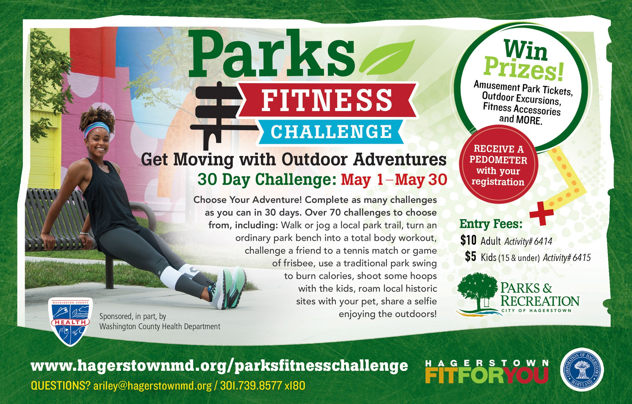 Parks Fitness Challenge