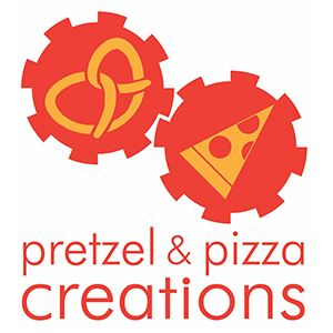 Pretzel & Pizza Creations logo