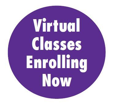 Virtual Classes Enrolling Now_graphic